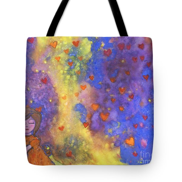 Love Will Find You Tote Bag by AnaLisa Rutstein
