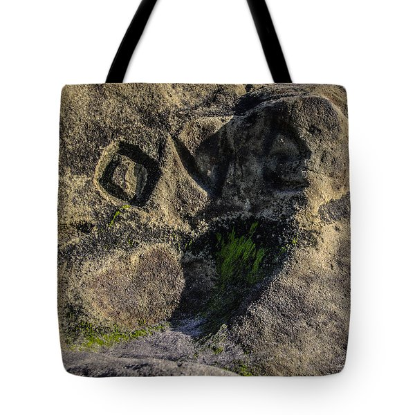 Love Written In Stone Tote Bag by Randy Bayne