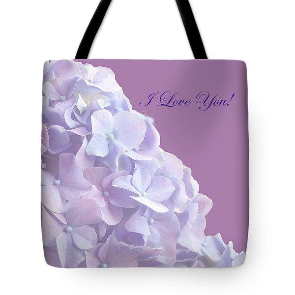 Love You Greetingcard Tote Bag