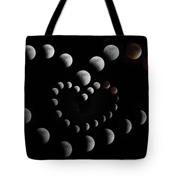 Love You To The Moon And Back II Tote Bag