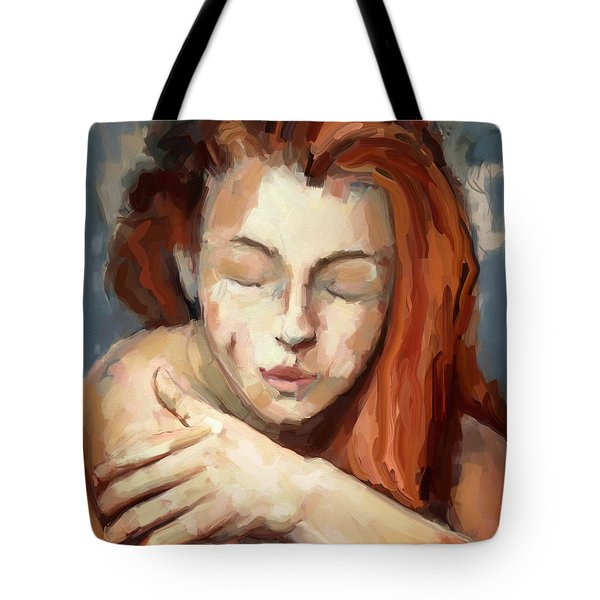 Love Yourself Tote Bag by Carrie Joy Byrnes