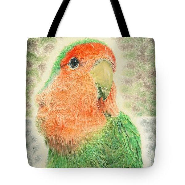 Lovebird Pilaf Tote Bag