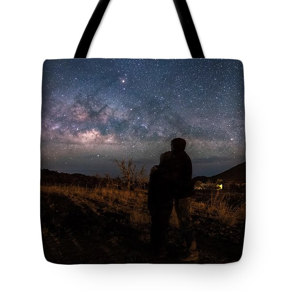Loveing The  Universe Tote Bag