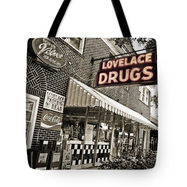 Lovelace Drugs Tote Bag