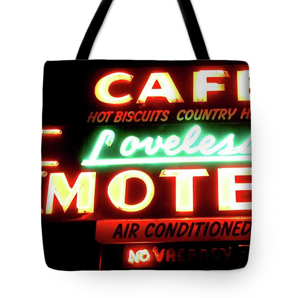 Loveless Cafe- Art By Linda Woods Tote Bag by Linda Woods