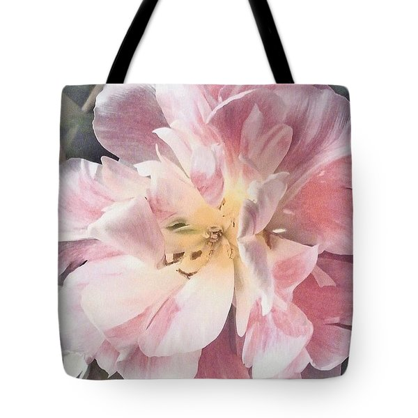 Loveliness Flower Tote Bag