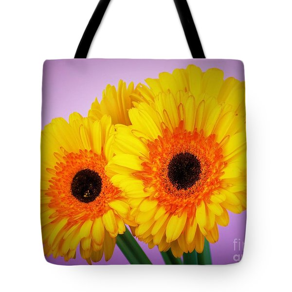 Lovely And Beautiful - Gerbera Daisies Tote Bag