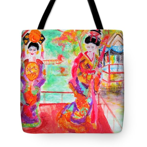 Lovely Asian Ladies Tote Bag
