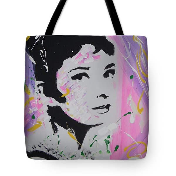 Lovely Audrey Tote Bag