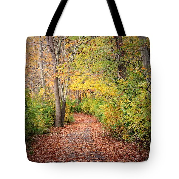 Lovely Autumn Tote Bag by Mikki Cucuzzo
