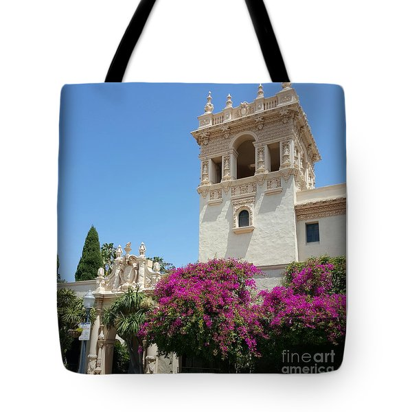 Lovely Blooming Day In Balboa Park San Diego Tote Bag