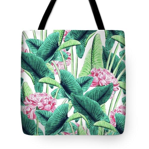 Lovely Botanical Tote Bag by Uma Gokhale