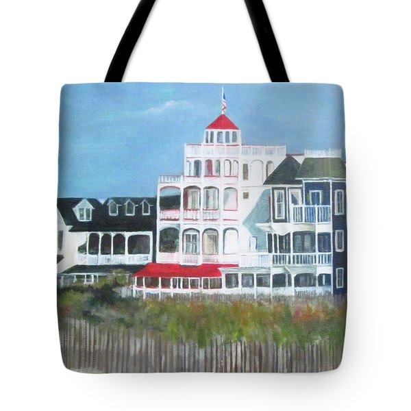 Lovely Cape May Tote Bag