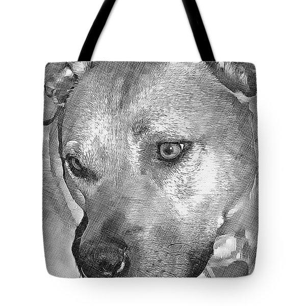 Lovely Dog Tote Bag