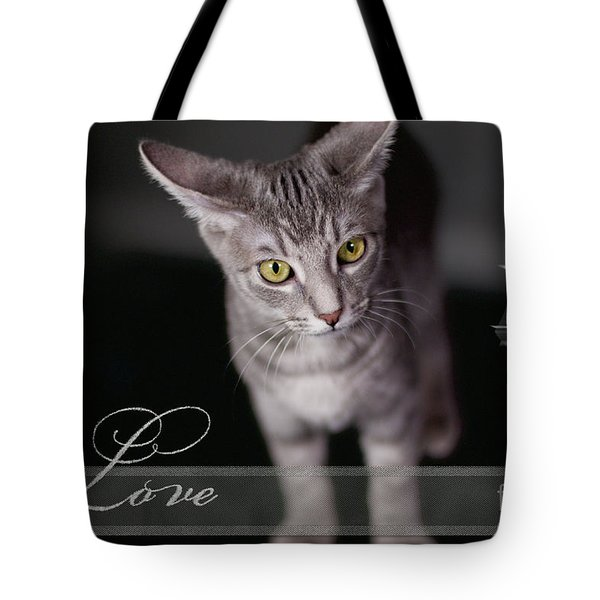 Lovely Face Card Tote Bag