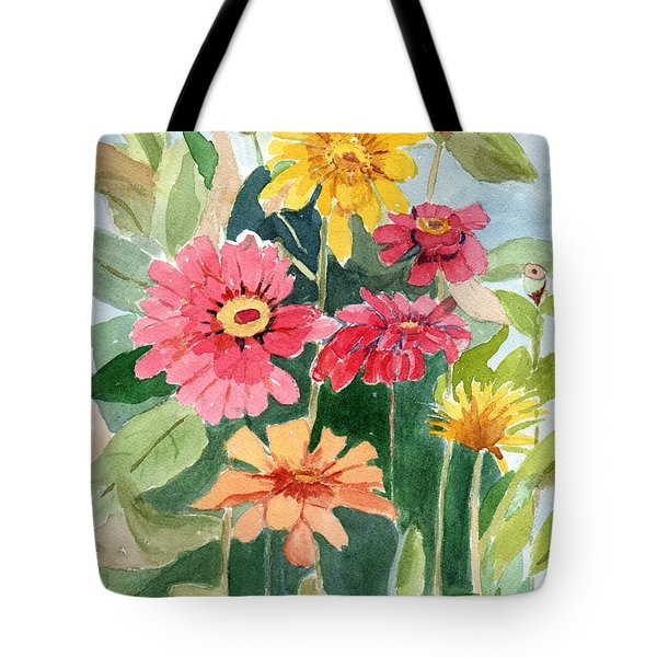 Lovely Flowers Tote Bag