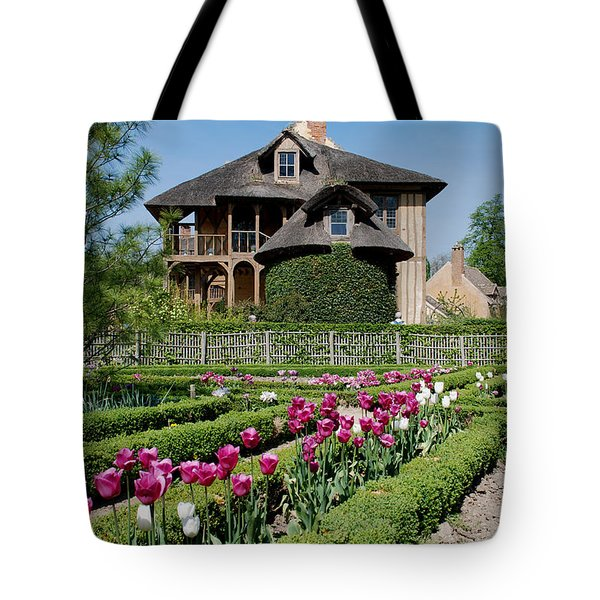 Lovely Garden And Cottage Tote Bag by Jennifer Lyon