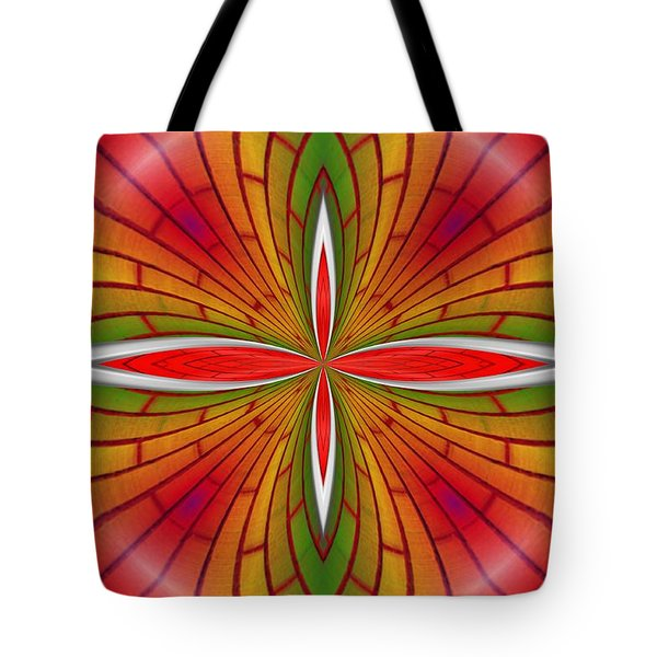 Lovely Geometric  Tote Bag