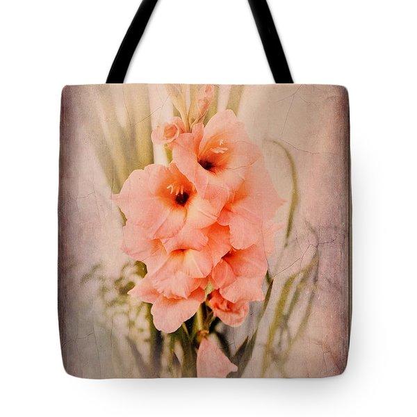 Lovely Gladiolus Tote Bag