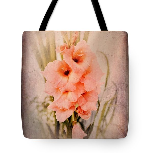 Lovely Gladiolus Tote Bag