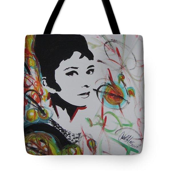 Lovely Hepburn Tote Bag