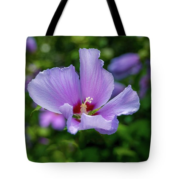 Lovely Hibiscus Tote Bag