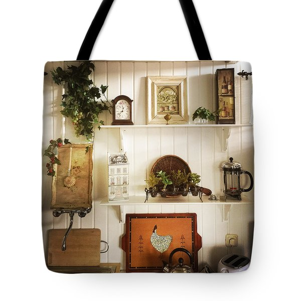 Lovely Kitchen Decoration Tote Bag