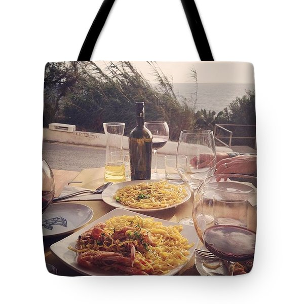 A Seaside Lunch Tote Bag