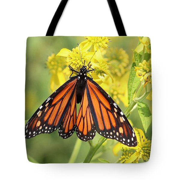 Lovely Monarch Tote Bag