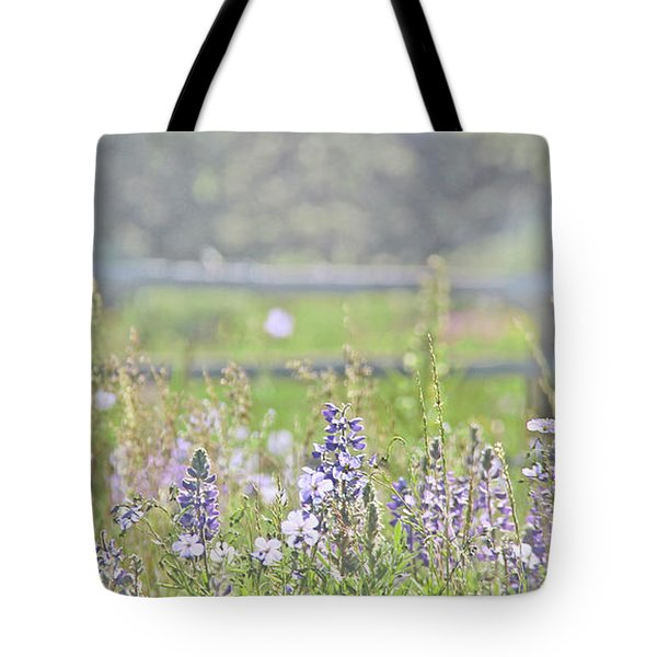 Tote Bag featuring the photograph Lovely Montana Wildflowers by Jennie Marie Schell