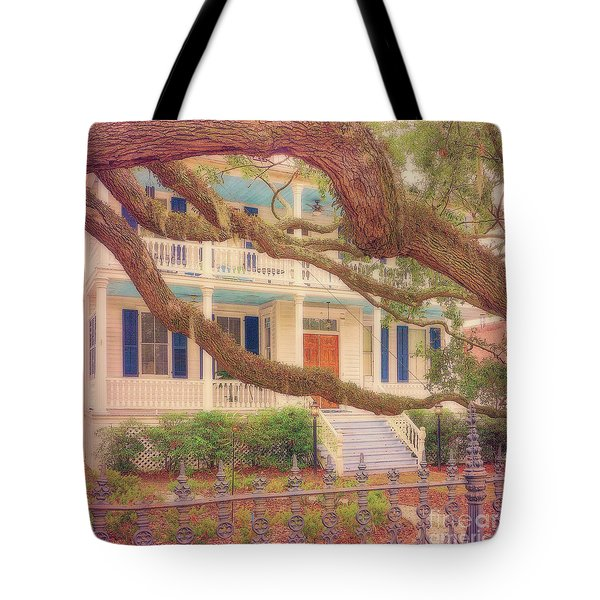 Lovely Old South Tote Bag