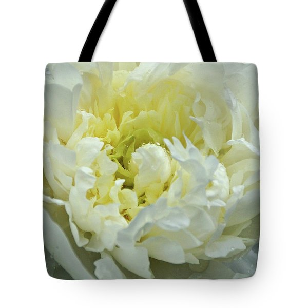 Tote Bag featuring the photograph Lovely Peony by Sandy Keeton
