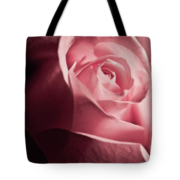 Tote Bag featuring the photograph Lovely Pink Rose by Micah May
