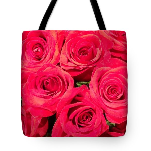 Lovely Roses Tote Bag by Alohi Fujimoto