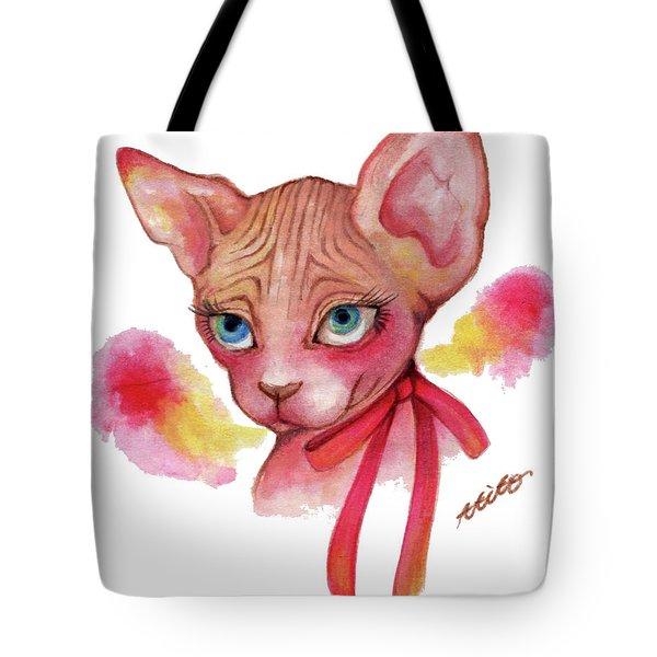 Lovely Sphynx Tote Bag