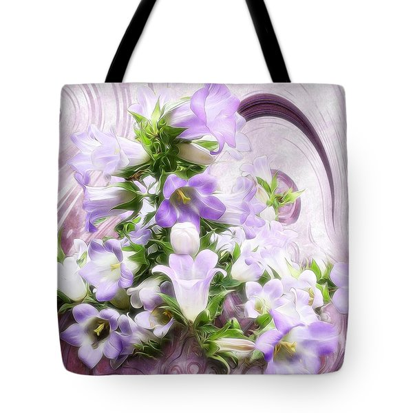Lovely Spring Flowers Tote Bag