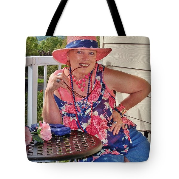 Lovely View Tote Bag