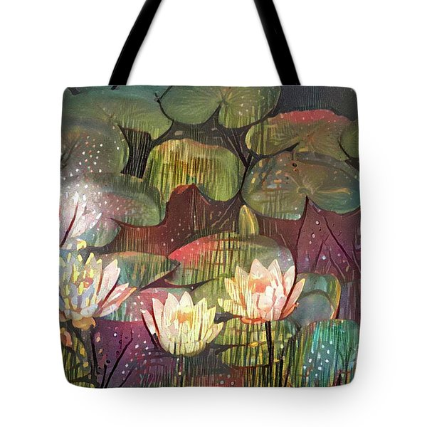 Lovely Waterlilies 3 Tote Bag