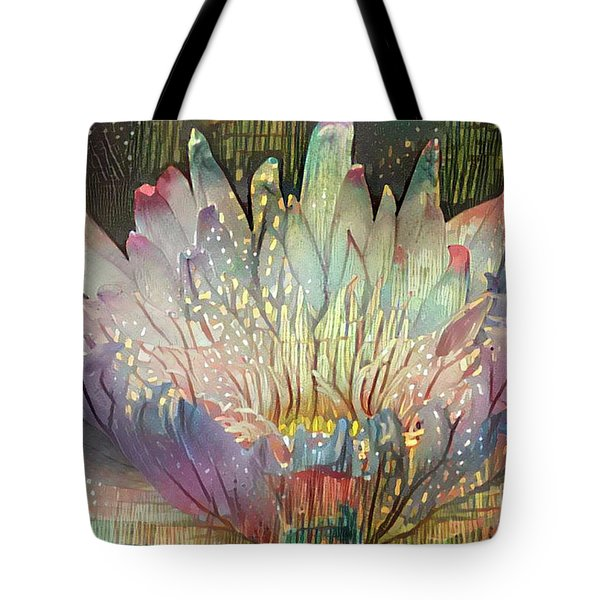 Lovely Waterlilies 6 Tote Bag