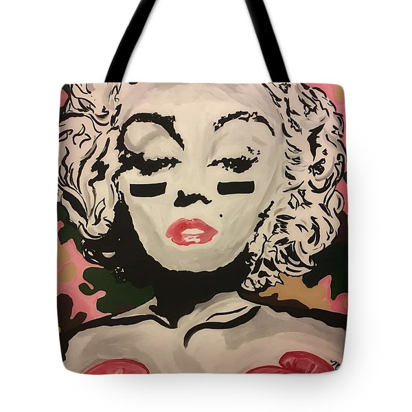 Lover And A Fighter  Tote Bag by Miriam Moran