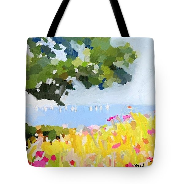Lover's Lane, Rockport, Ma Tote Bag