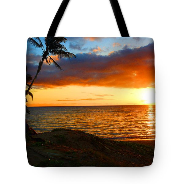 Lovers Paradise Tote Bag by Michael Rucker