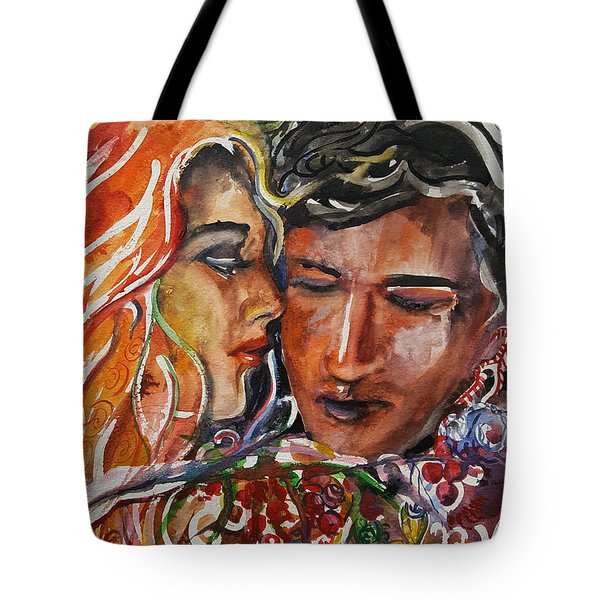 Lovers Tote Bag by Rita Fetisov