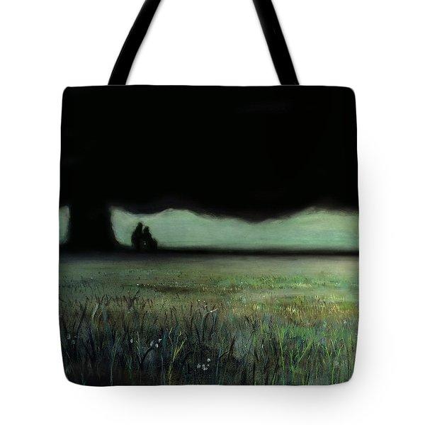 Lovers Tree Tote Bag by Antonio Ortiz
