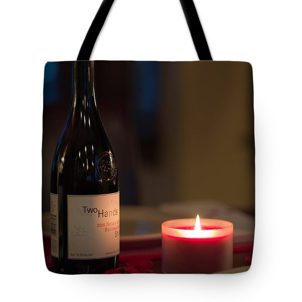 Love's Flame Burns Bright Tote Bag by Mike Hendren