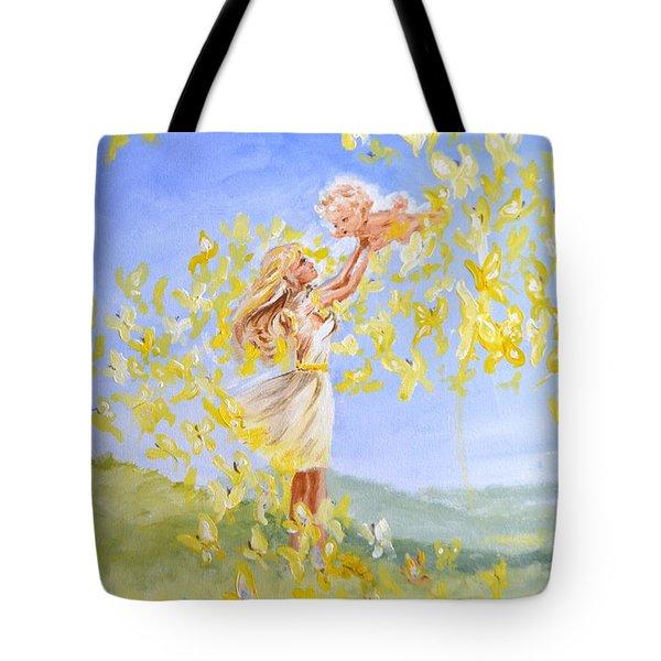 Love's Flight Tote Bag