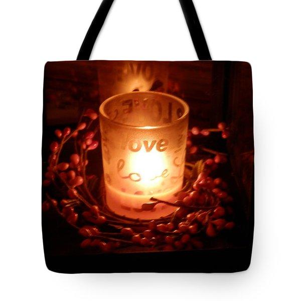 Love's Glow Tote Bag