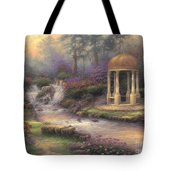 Love's Infinity Garden Tote Bag