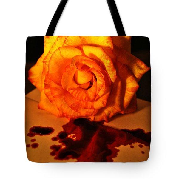 Loves Last Letter Tote Bag