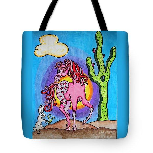Lovey Appaloosa Tote Bag